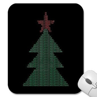 ASCII Xmas Tree Mouse Pads at Zazzle.ca | ASCII Art | Scoop.it