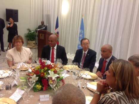 Ban Ki Moon displays strong UN commitment to eradicate cholera in Haiti - The Haitian-Caribbean News Network   The Total Sanitation Campaign in Haiti   Scoop.it