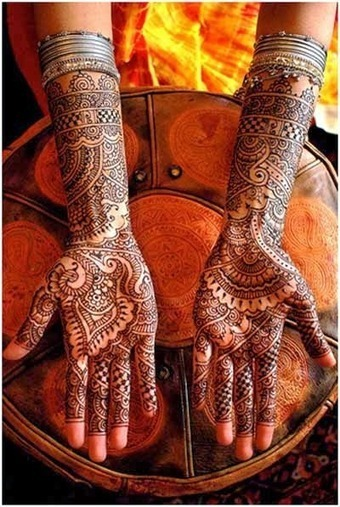 Indian Mehendi Designs - Traditional Indian Mehndi | Mehndi Designs - Mehendi Designs For Everyone | My Voice | Scoop.it