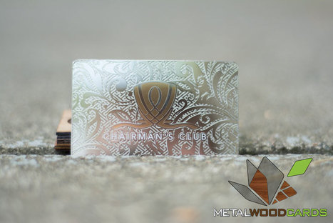 Leave a Mark With Metal Business Cards   Metal Business Card   Scoop.it