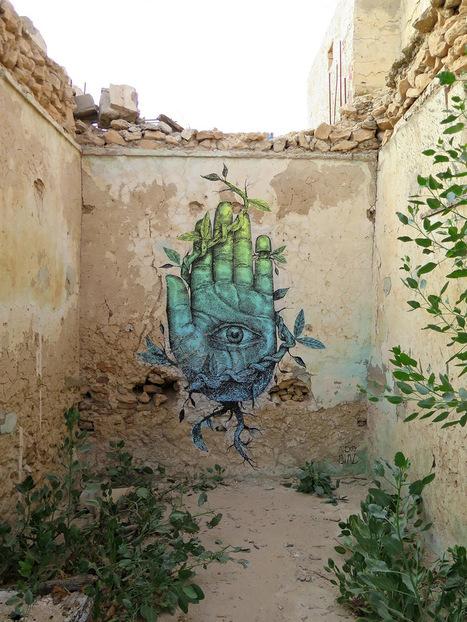 #Unusual #Hybrid #Animal and #Wildlife #Murals #Painted by Alexis Diaz #art #streetart | Luby Art | Scoop.it