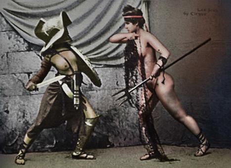 Mujeres en la arena ¿luchadoras o modelos eróticas? | LVDVS CHIRONIS 3.0 | Scoop.it