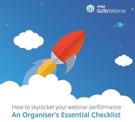 Get ready to launch your webinar with this helpful planning checklist | Serious Play | Scoop.it