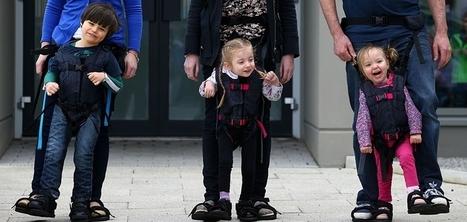 The Upsee : l'invention qui permet aux enfants paralysés de découvrir la marche avec leurs parents | Vous avez dit Innovation ? | Scoop.it