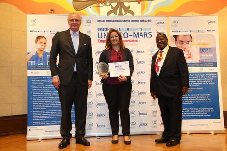 Un chercheur de l'IPT obtient le 3ème prix du meilleur chercheur africain délivré par l'UNESCO MARS | Institut Pasteur de Tunis-معهد باستور تونس | Scoop.it