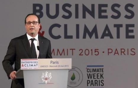 Conférence climat en ligne de mire, les chefs d'entreprises demandent un prix du carbone - 20 Minutes | Actualités écologie | Scoop.it