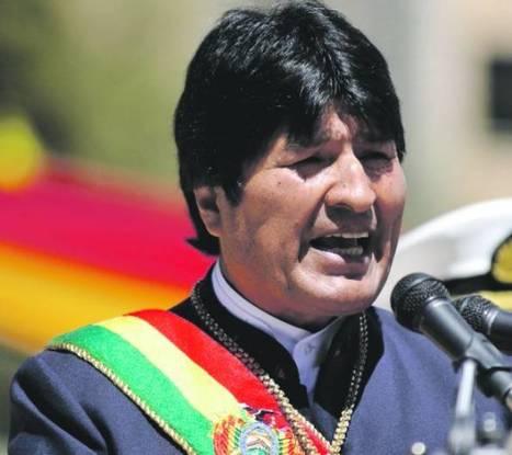 """Evo Morales: Potencias están en crisis porque """"ya no roban"""" a América Latina - ABC Color   Un poco del mundo para Colombia   Scoop.it"""