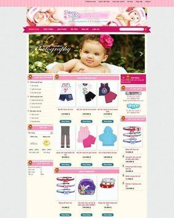 Bán quần áo trẻ em online hiệu quả!   BizWeb VietNam   Scoop.it