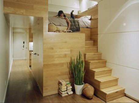 5 Super-Efficient Tiny New York Apartments | Inhabitat New York City | Espacios Reducidos | Scoop.it