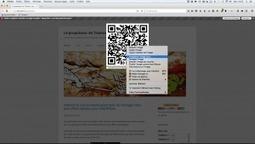 Qr Code: générer vos QR code d'un simple clic sur Firefox – Le coutelas de Ticeman | Ressources pour la Technologie au College | Scoop.it