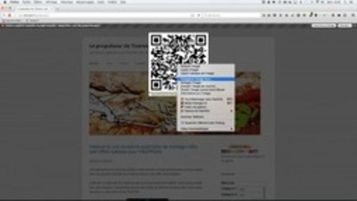 Qr Code: générer vos QR code d'un simple clic sur Firefox – Le coutelas de Ticeman | TIC et TICE mais... en français | Scoop.it