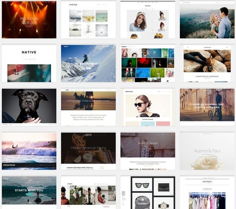 Squarespace: A comprehensive review of the website building platform | Social media in libraries and library websites | Scoop.it