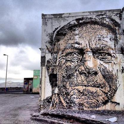 Portugal : zoom sur Vhils, nouveau prodige du street art | Tablets na educação | Scoop.it