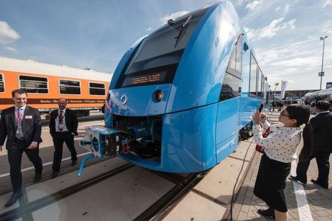 Germany has unveiled a zero-emissions train that only emits water | Recherche et innovations | Scoop.it