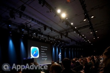 Apple Reimagines Safari On iOS 7 With New Tab Interface, Smart Search And ... - AppAdvice | OS X Maverick | Scoop.it