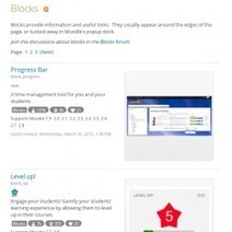 Moodle in English: Moodle Plugins directory update | elearning stuff | Scoop.it