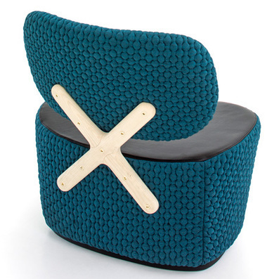 "Richard Hutten explique que la simplicité du X de la ""X-Chair"" n'est qu'une apparence 
