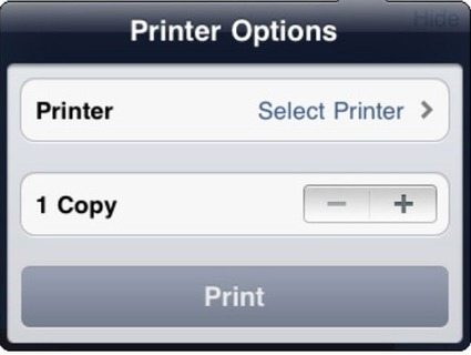 How to Print from iOS Device to a Wireless Printer | Live PC Geeks | Mobile Technology | Scoop.it