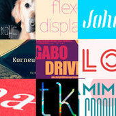 Beautiful Free Fonts Round-Up #1 | Software | Scoop.it