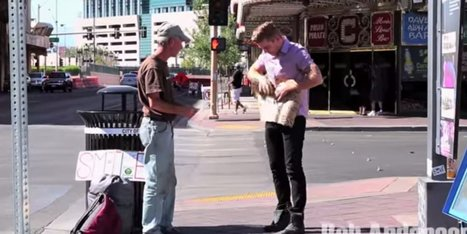 This Magician Had An Excellent Reason For Ripping Up A Homeless Veteran's Sign | Xposed | Scoop.it