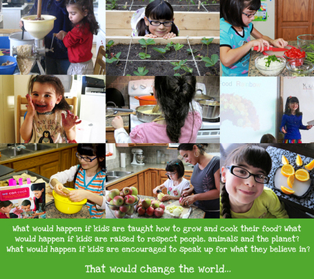 Kids Can and Do Make A Difference! | Today I ate a Rainbow! TM | Early Brain Development | Scoop.it
