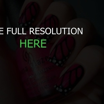 nail design butterfly | nail art | Scoop.it