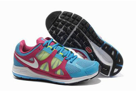 Nike Zoom Elite 5 Running Shoe Soar White Pink Volt Womens | popular and new list | Scoop.it