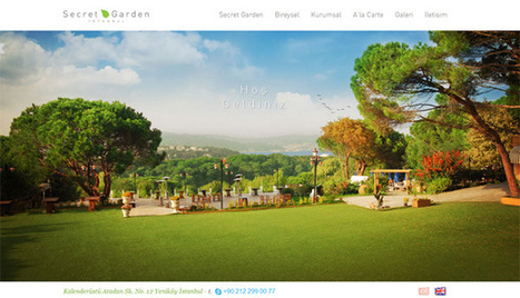Showcase of 40+ Websites Using Fullscreen Background Images | Web Design | Scoop.it