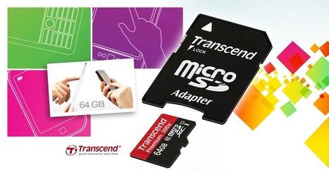 QoQa.fr : Transcend Carte Micro SDXC 64GB Classe 10 UHS-1 ☆ 29.99€ | Nouvelles techno | Scoop.it