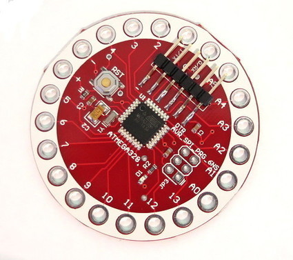 NEW PRODUCT - LilyPad Arduino-compatible 328 Main Board | Raspberry Pi | Scoop.it