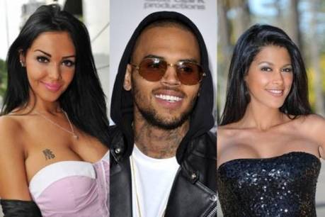 Photo : Chris Brown s'éclate avec Nabilla,