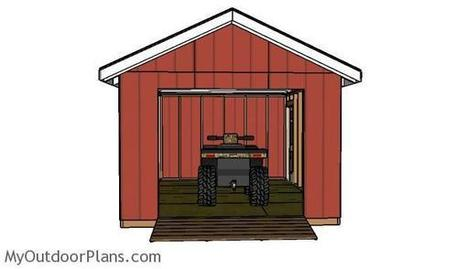 ATV Shed Ramp Plans | MyOutdoorPlans | Free Woodworking Plans and Projects, DIY Shed, Wooden Playhouse, Pergola, Bbq | Garden Plans | Scoop.it