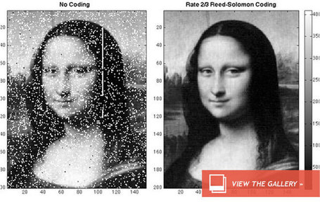 NASA Beams Mona Lisa to Moon with Laser | Vulbus Incognita Magazine | Scoop.it