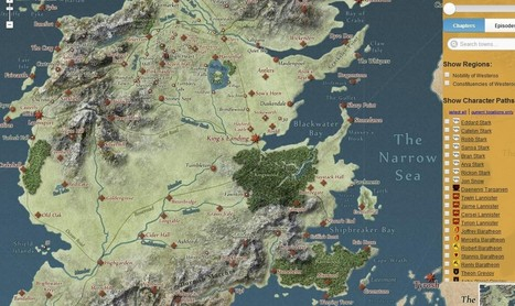 Navegue na geografia de Game of Thrones como no Google Maps - Galileu | Geografia | Scoop.it