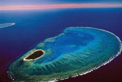 Twitter / IncredibleViews: The Great Barrier Reef in ... | Climate Change | Scoop.it