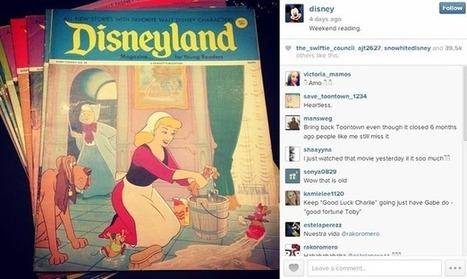 How Disney uses social media: Vine, YouTube, Pinterest, Instagram and more   Online Marketing   Scoop.it
