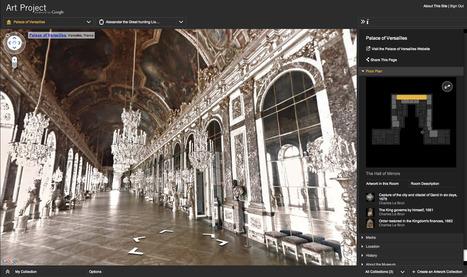 Six musées français intégrés au Google Art Project | 21st Century Tools for Teaching-People and Learners | Scoop.it