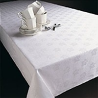 White Cotton Damask Napkins, Placemats, and Tablecloths | My Favourite Videos | Scoop.it