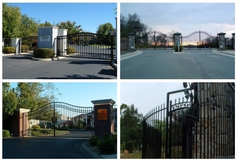 Sacramento, CA Automated Gates System   Find unique Design on Wrought Iron Gates in Roseville, Sacramento   Scoop.it