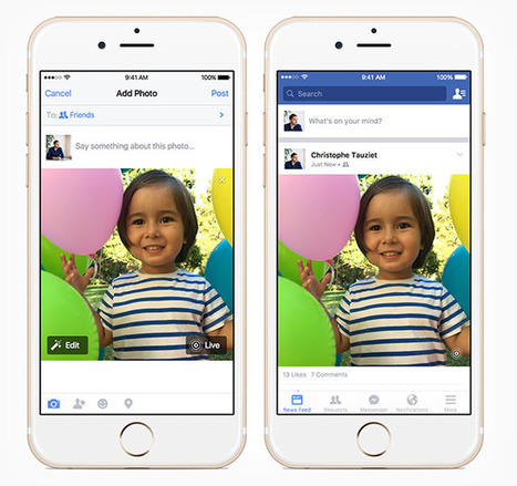 Facebook's iOS App Now Supports Apple's Live Photos | xposing world of Photography & Design | Scoop.it