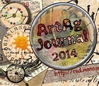 Manos y Mente Art Journaling: Junio ArtAg Journal: Creaciones de participantes en el proyecto | Red Social de Manos y Mente | Scoop.it