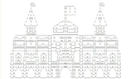 WiP castle • /r/asciiart | ASCII Art | Scoop.it