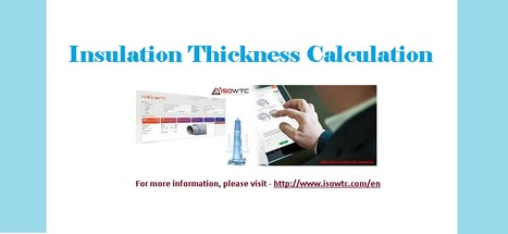 Insulation Thickness Calculation Software | Insulation Calculator | Scoop.it