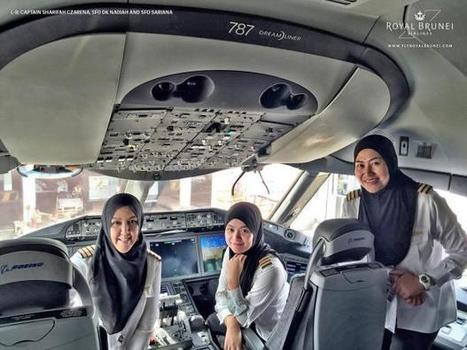 All-female flight crew lands plane in country they're not allowed to drive in | LGBT Times | Scoop.it