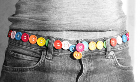 DIY Button Belt | Kids Craft | Scoop.it
