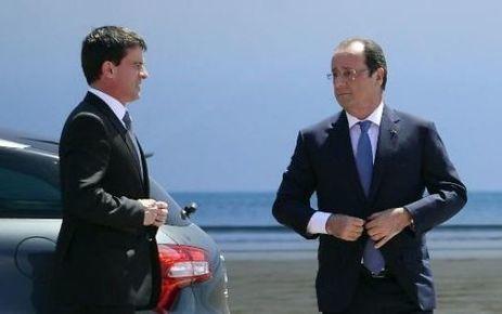 Sondage OpinionWay : Hollande remonte légèrement, Valls chute - Le Parisien   Eddie Constantine   Scoop.it