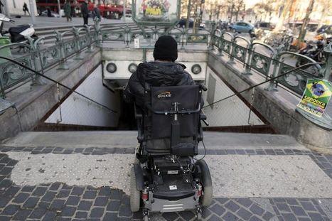 Handicap : l'accessibilité des villes, toujours insuffisante - Libération | mp4 handicap | Scoop.it