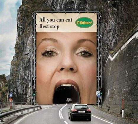 Ingeniously Weird Ads | memolition | Strange days indeed... | Scoop.it