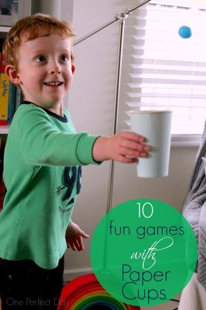 Ten Fun Games with Paper Cups | One Perfect Day | CLOVER ENTERPRISES ''THE ENTERTAINMENT OF CHOICE'' | Scoop.it