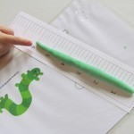 Measuring play dough inchworms | Teach Preschool | Scoop.it